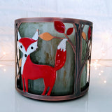 Woodland Fox Candle Holder