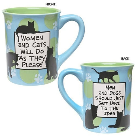 Women & Cats Mug - Holt Bros. Mercantile