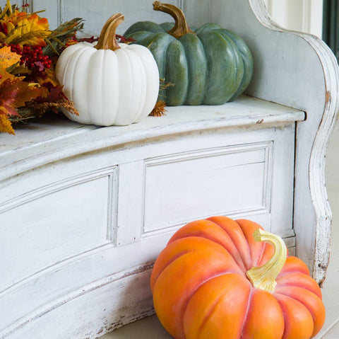 Outdoor Heirloom Pumpkins