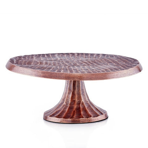 Copper Cake Stand - Holt Bros. Mercantile