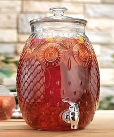Owl Beverage Dispenser - Holt Bros. Mercantile