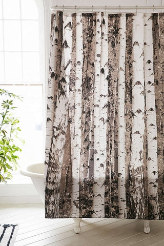 Birch Grove Shower Curtain - Holt Bros. Mercantile  - 1