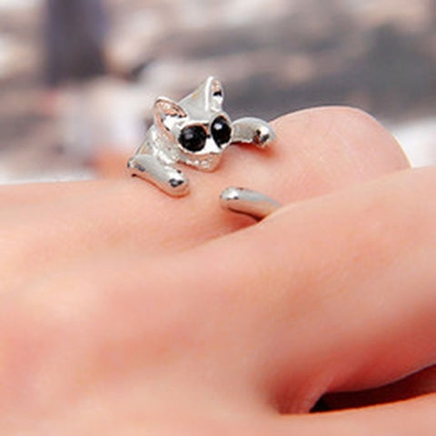 Cat Fashion Ring - Holt Bros. Mercantile  - 1