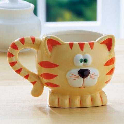 Cat Mug - Holt Bros. Mercantile  - 1