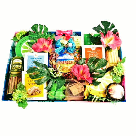 Tropical Island Breeze Gift Basket
