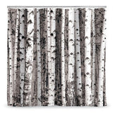 Birch Grove Shower Curtain - Holt Bros. Mercantile  - 2
