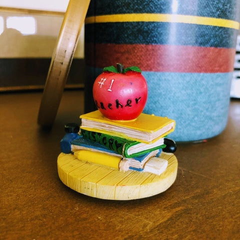 Favorite Teacher Candle Lid Magnet