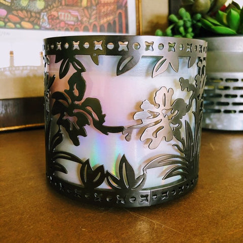 Garden Orchids Candle Sleeve