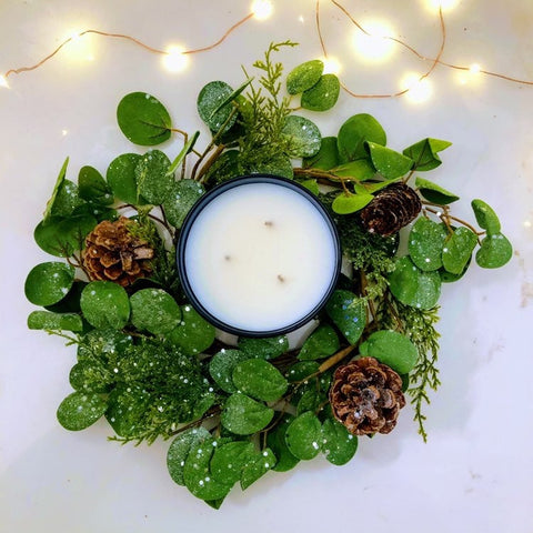Iced Eucalyptus Candle Ring