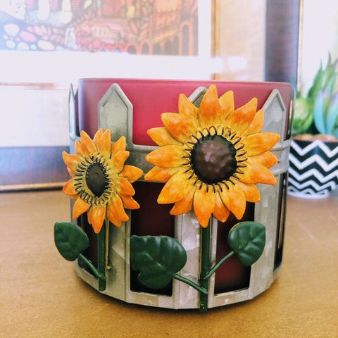 Sunflower Farm 3-Wick Candle Holder