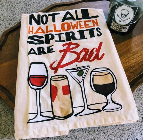 Halloween Spirits Kitchen Towel