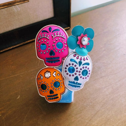 Day of the Dead Skulls Fragrance Plug
