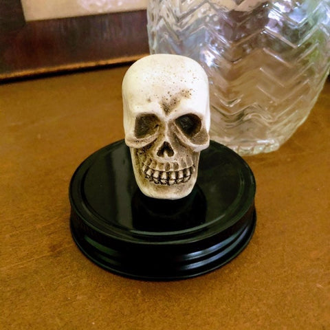 Decorative Halloween Mason Jar Lids