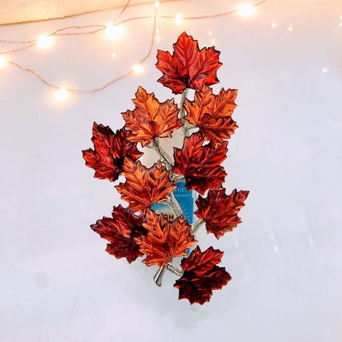 Fall Maple Leaves Fragrance Plug