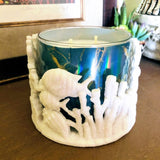 Ocean Coral Reef Candle Holder