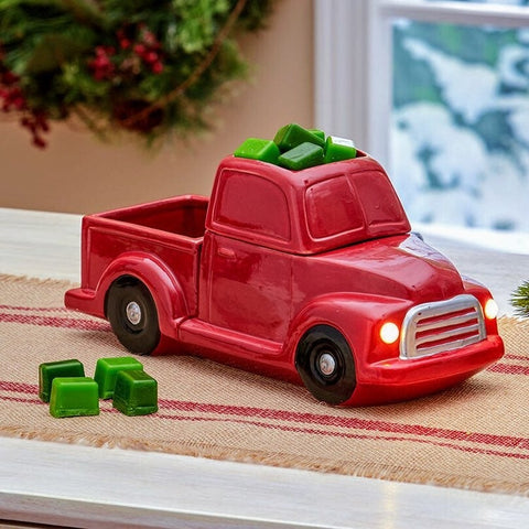 Farmhouse Red Truck Wax Tart Warmer