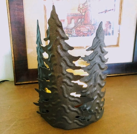 Woodland Spruce Candle Holder