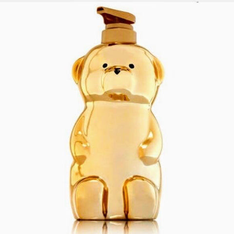 Golden Honey Bear Soap Dispenser
