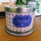 Slatkin Summer 3-Wick Candles