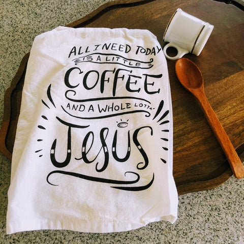Coffee & Jesus Kitchen Towel