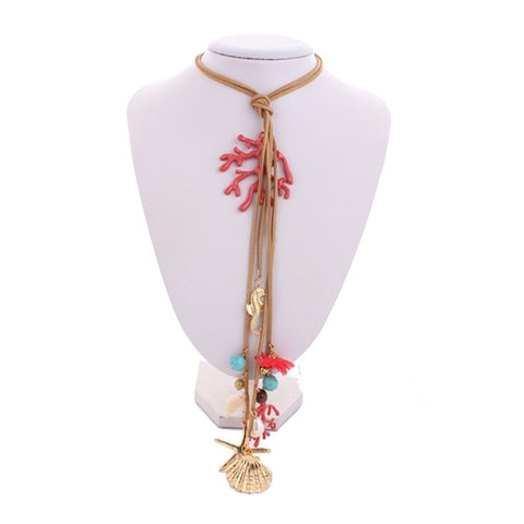 Seashore Tassel Sweater Chain - Holt Bros. Mercantile  - 1