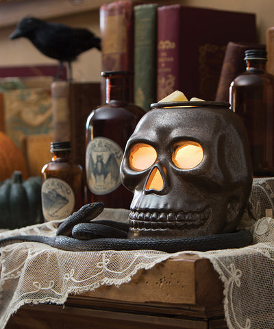 Skull Wax Fragrance Warmer - Holt Bros. Mercantile  - 1