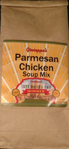 Parmesan Chicken Soup