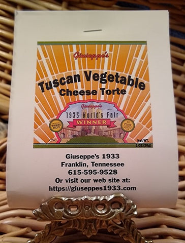 Tuscan Vegetable Cheese Torte