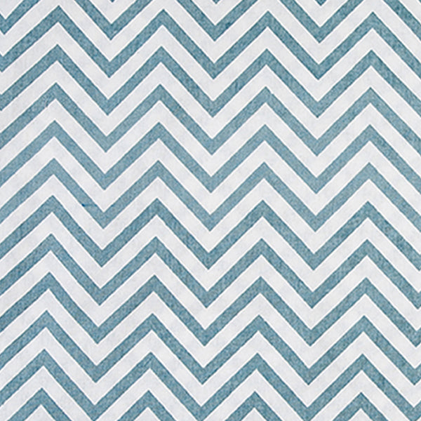 BABBLER BLUE CHEVRON OXFORD