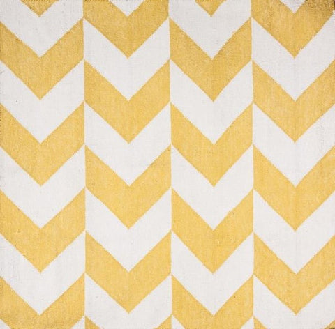 Arrow Chevron Yellow / Off White