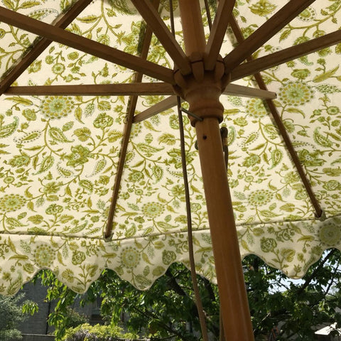 Garden Umbrella Le Jardin Spring Green