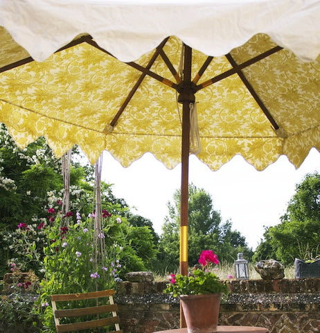 Garden Umbrella Pomegranate Celery