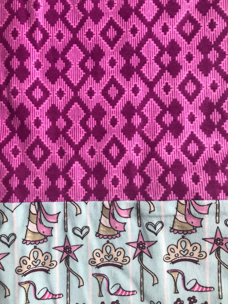 Flannel pants - Fuchsia  w/ Princess