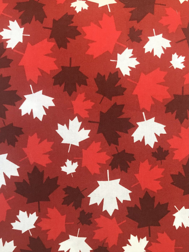 Women's Cotton Boxers - Red Maple Leaf