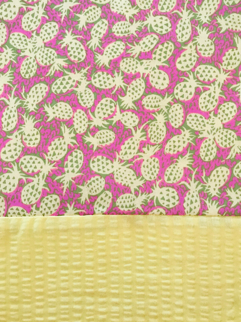 Cotton Capri - Pineapple w/ Yellow