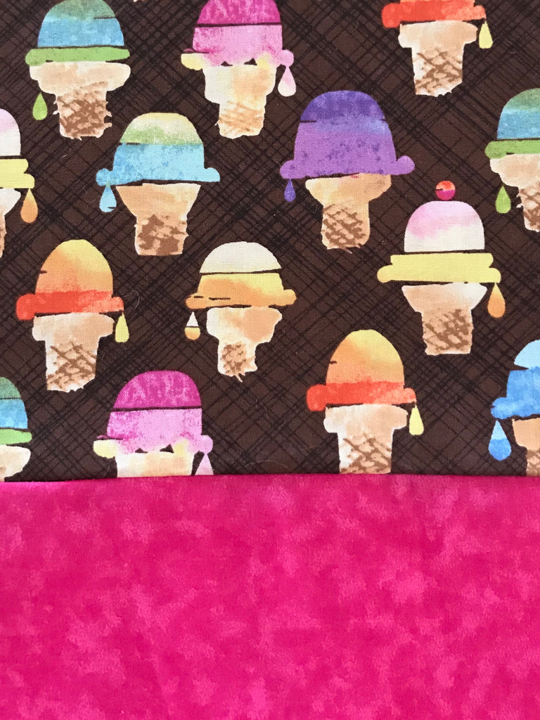 Cotton CAPRI - Ice-Cream Cones w/ Pink