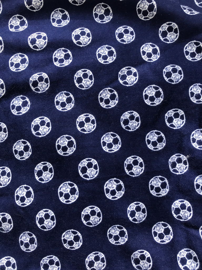 Flannel Pants - Navy Soccer
