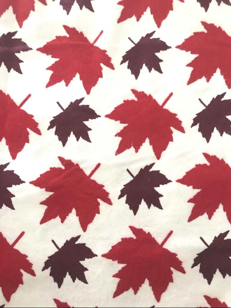 Flannel Pant - Maple Leaf