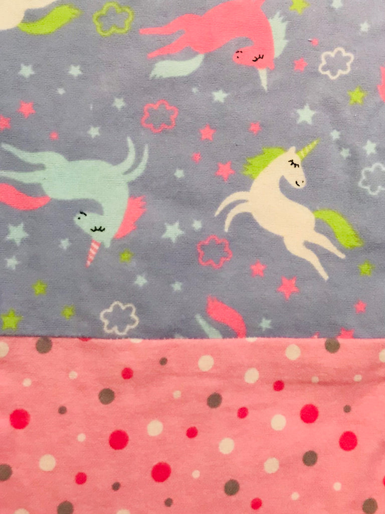Flannel Pants - Unicorn w/ Pink