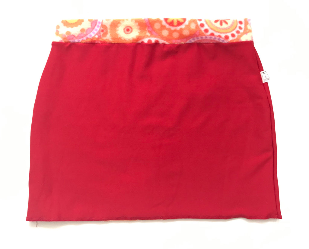 Bum Warmers-Red & Orange Design