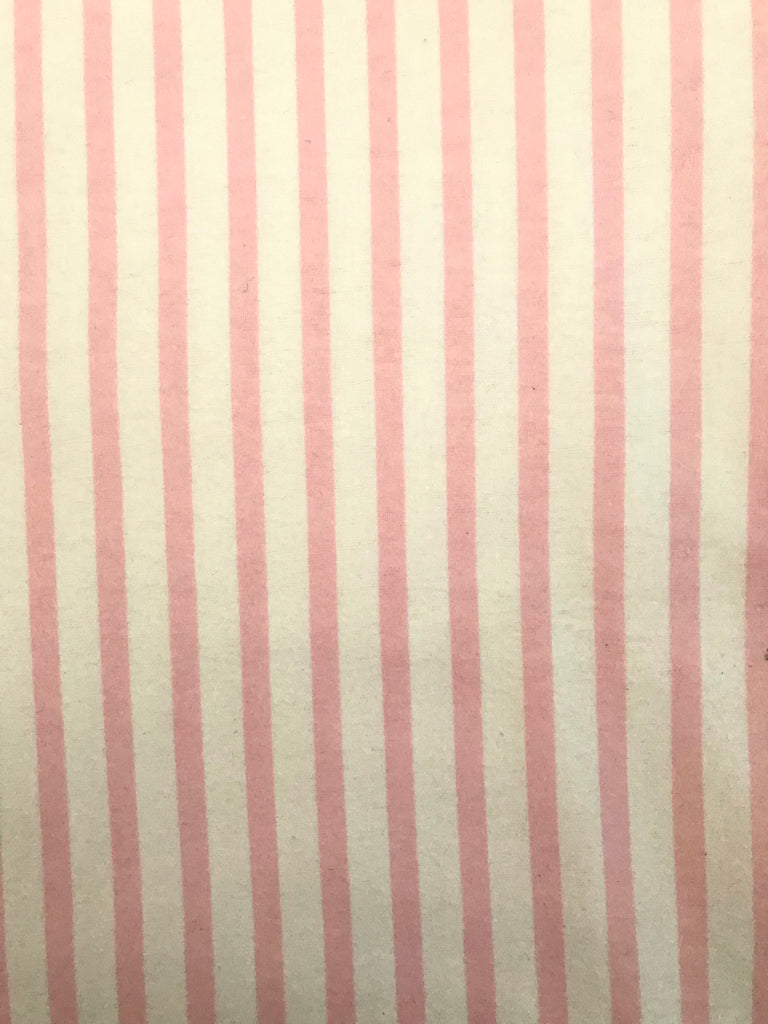 Flannel Pants -  Pink Stripe