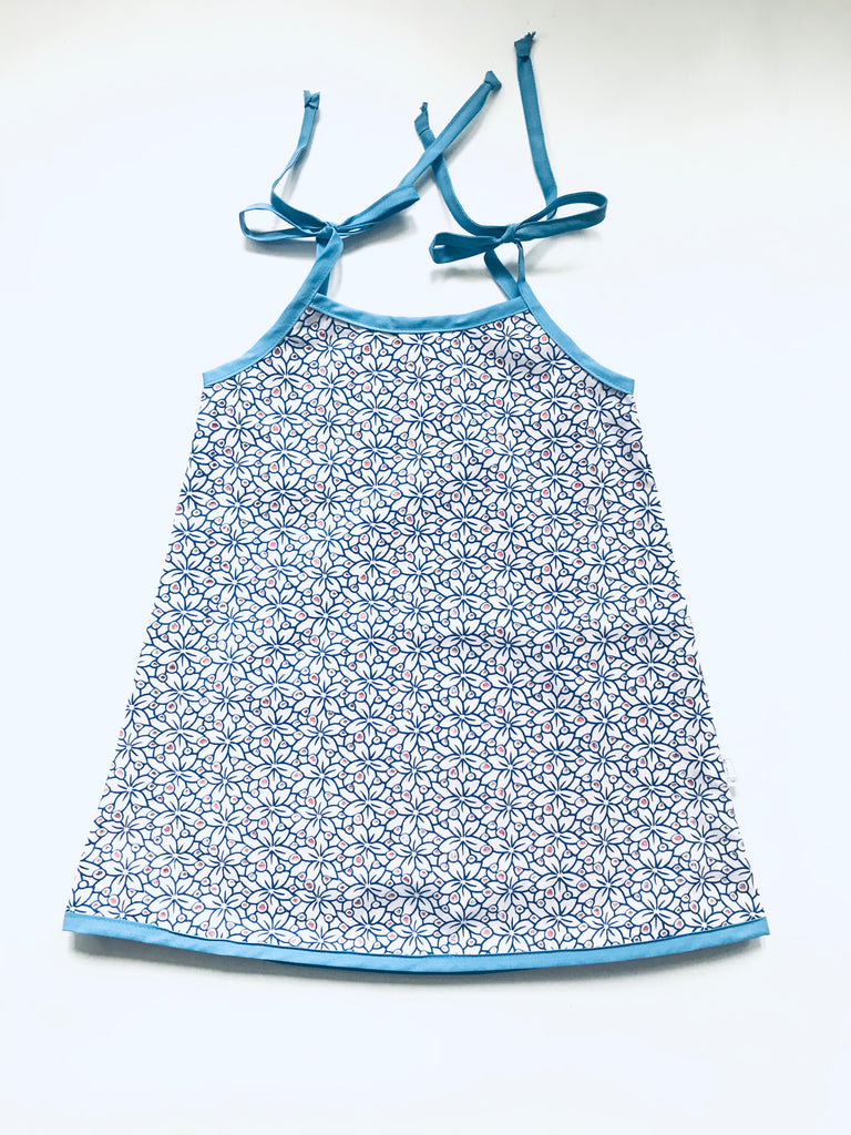 Reversible Dresses - Red Anchor w/ blue flower