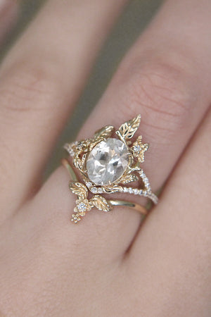 Moissanite Nightenveil Ring