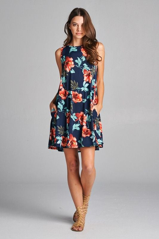 Tropically Inspired Dresses