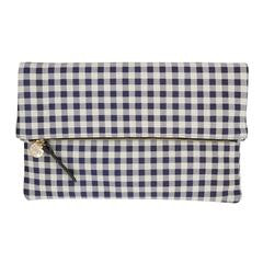 Made in USA Clare V Gingham Clutch