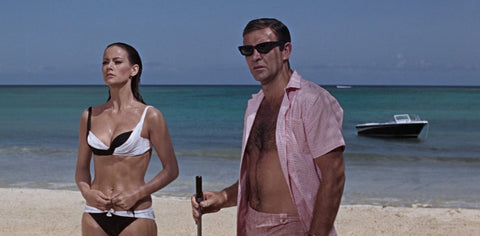 James Bond Pink Gingham Shirt Thunderball
