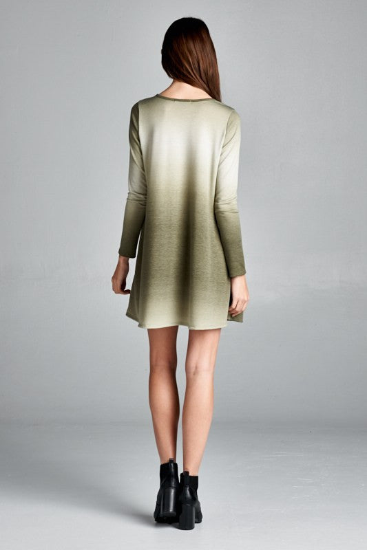 Olive Ombre Tunic