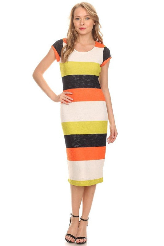 Ready for the Regatta Midi Dress