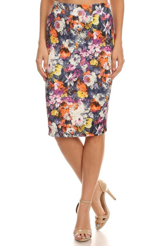 American Made Women's Floral Pencil Skirt from Gilli