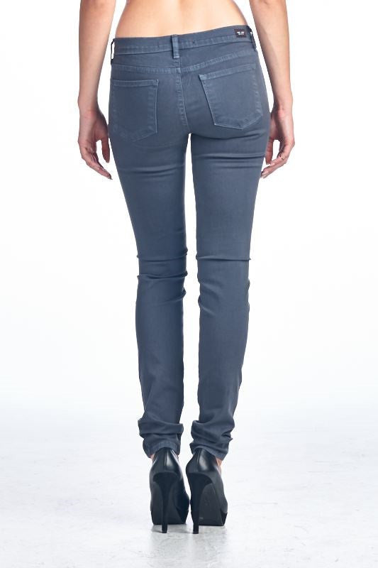American Made Women's Grey Skinny Jeans from Angry Rabbit Back